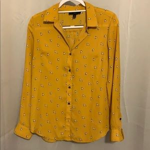 Blouse with birds. Never worn.